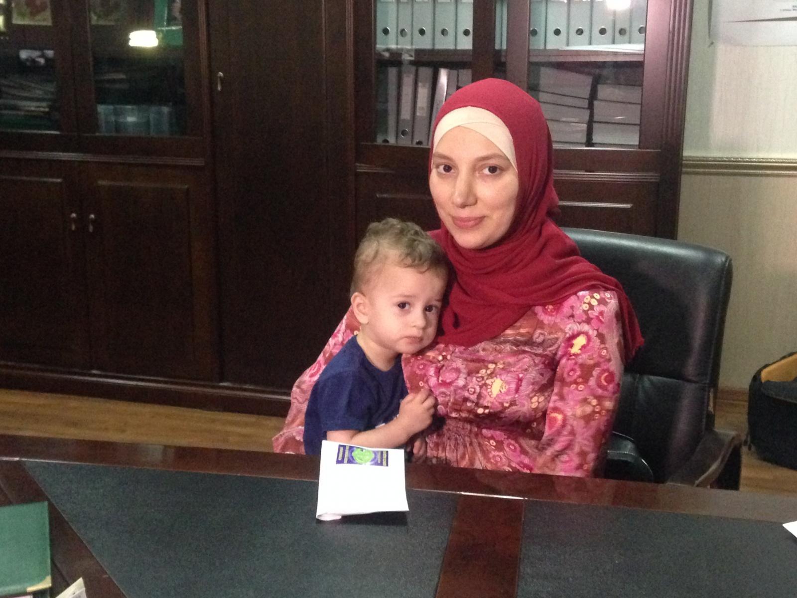 Фото кадырова с ребенком